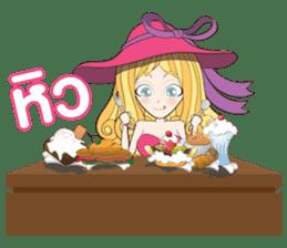 Barbieswink Girl sticker #8132635