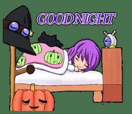 English witch Eiko. sticker #8140003