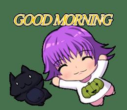 English witch Eiko. sticker #8140004
