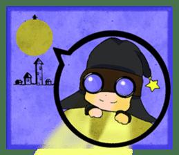 English witch Eiko. sticker #8140015