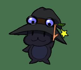 English witch Eiko. sticker #8140019