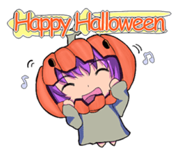 English witch Eiko. sticker #8140025