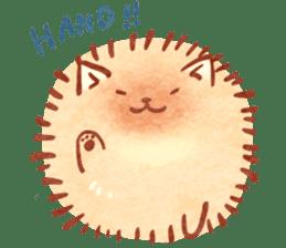 Cute fluffy Pomeranian sticker #8154005