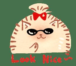 Cute fluffy Pomeranian sticker #8154010