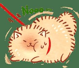 Cute fluffy Pomeranian sticker #8154012