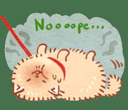 Cute fluffy Pomeranian sticker #8154013