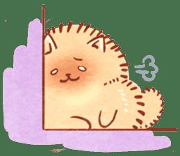 Cute fluffy Pomeranian sticker #8154015