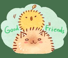Cute fluffy Pomeranian sticker #8154018