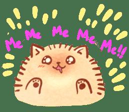 Cute fluffy Pomeranian sticker #8154019