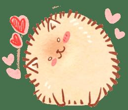Cute fluffy Pomeranian sticker #8154021