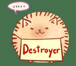Cute fluffy Pomeranian sticker #8154024