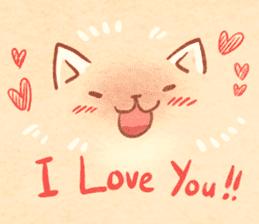 Cute fluffy Pomeranian sticker #8154026