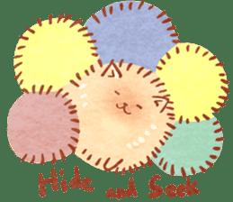 Cute fluffy Pomeranian sticker #8154027