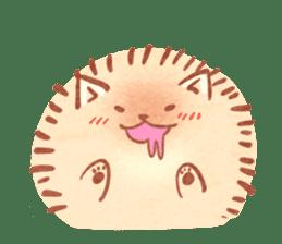 Cute fluffy Pomeranian sticker #8154031