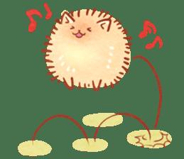 Cute fluffy Pomeranian sticker #8154032