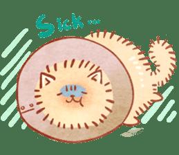 Cute fluffy Pomeranian sticker #8154038