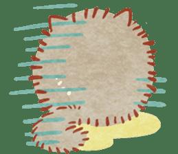 Cute fluffy Pomeranian sticker #8154041