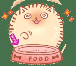Cute fluffy Pomeranian sticker #8154042