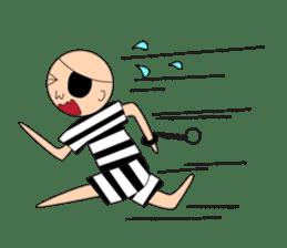 Male Prisoner sticker #8155768