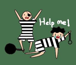 Male Prisoner sticker #8155780