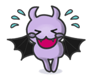 small bat and halloween sticker #8161113