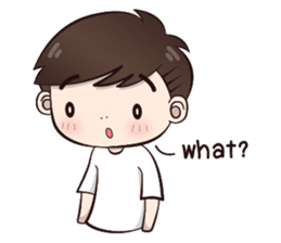 Boobib Cute Boy sticker #8161566