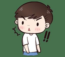 Boobib Cute Boy sticker #8161569
