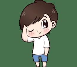 Boobib Cute Boy sticker #8161570