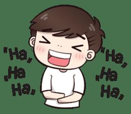Boobib Cute Boy sticker #8161571