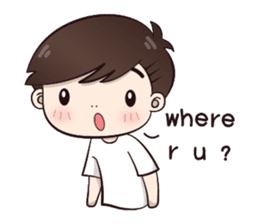 Boobib Cute Boy sticker #8161573