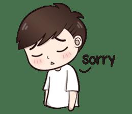 Boobib Cute Boy sticker #8161578