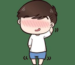 Boobib Cute Boy sticker #8161579