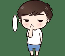Boobib Cute Boy sticker #8161581