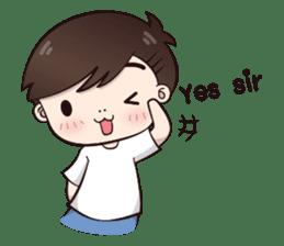 Boobib Cute Boy sticker #8161582