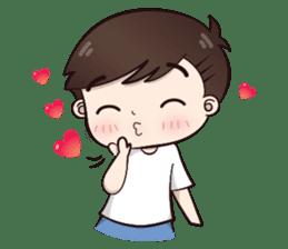 Boobib Cute Boy sticker #8161584