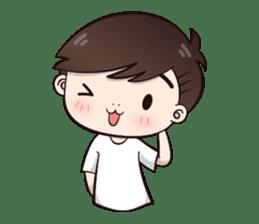 Boobib Cute Boy sticker #8161585