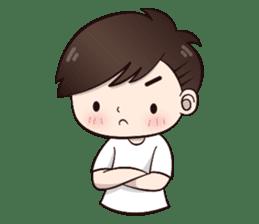 Boobib Cute Boy sticker #8161587
