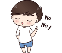 Boobib Cute Boy sticker #8161592