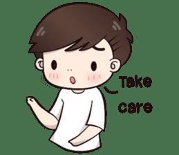 Boobib Cute Boy sticker #8161593