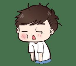 Boobib Cute Boy sticker #8161595