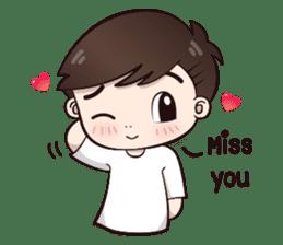 Boobib Cute Boy sticker #8161596