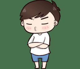 Boobib Cute Boy sticker #8161597