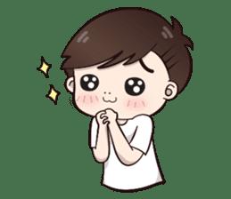 Boobib Cute Boy sticker #8161601