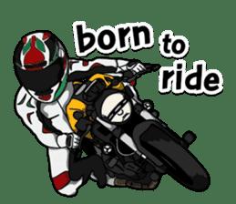 Bigbike Man3 English Version sticker #8169720