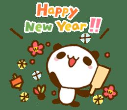 Marukyun Happy new year sticker #8170290