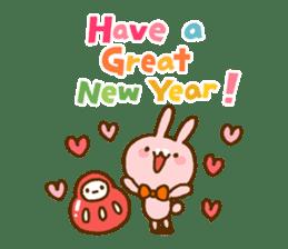 Marukyun Happy new year sticker #8170293