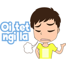 The Guy from Pontianak sticker #8172147