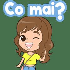 Fun girl from Pontianak sticker #8172484