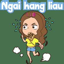Fun girl from Pontianak sticker #8172486