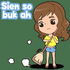 Fun girl from Pontianak sticker #8172487